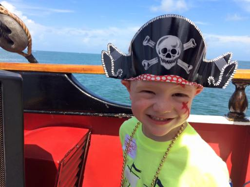 Face paint pirate